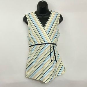 Two Hearts Maternity Sleeveless Blouse Size M Q-61